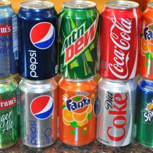 Coca, 7up, Pepsi,